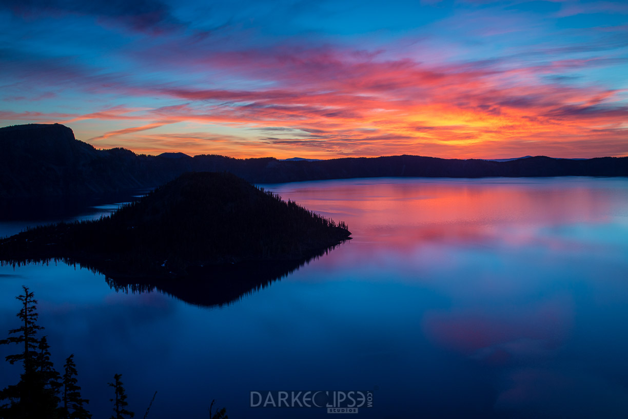 CRATER LAKE SUNRISE-0951