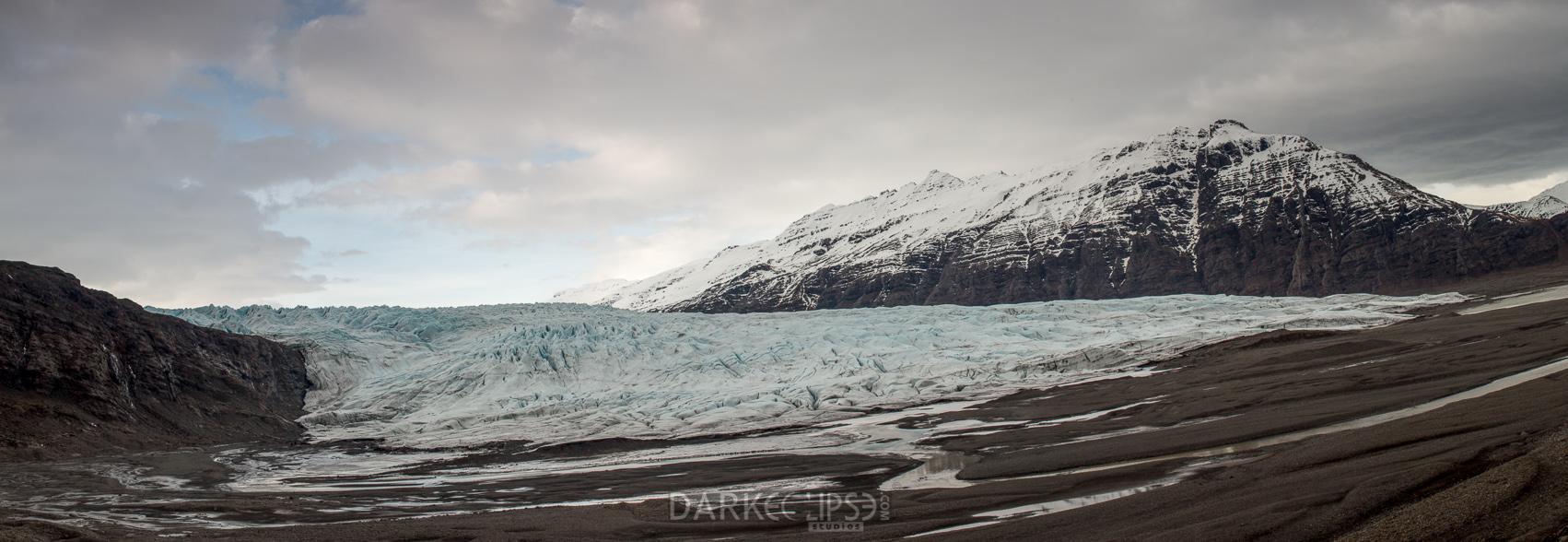 03032014 - Faajokull Glacier panorama-