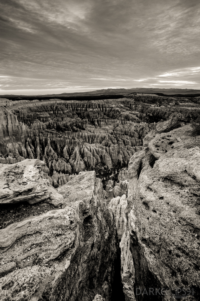 11132014 - Bryce Canyon Sunset Point Sunrise bw-